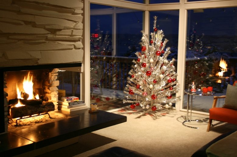 Christmas Tree Fireplace Lauer Realty Group