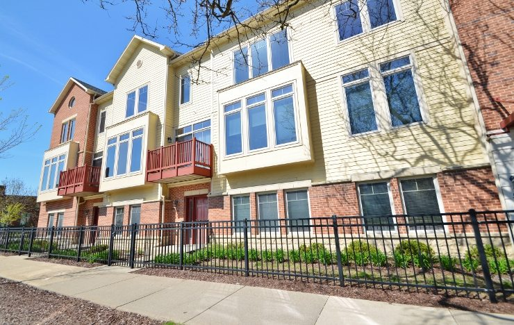 504 N Midvale Blvd, Hilldale Row, Madison, WI